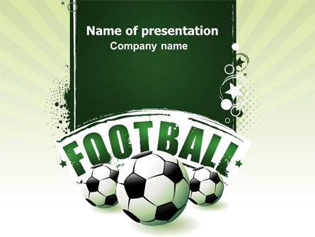Football World Cup PowerPoint Template, 06996, Sports — PoweredTemplate.com