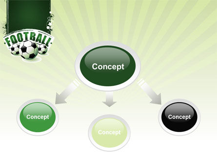 Football World Cup PowerPoint Template, Slide 4, 06996, Sports — PoweredTemplate.com