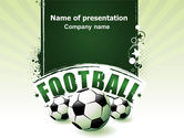 Sports: Football World Cup PowerPoint Template #06996