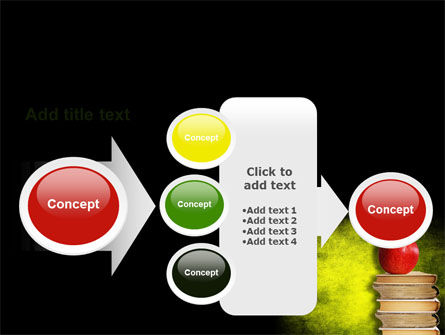 Apple and Books PowerPoint Template Slide 17