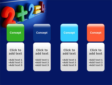 Two Plus Two PowerPoint Template Slide 5