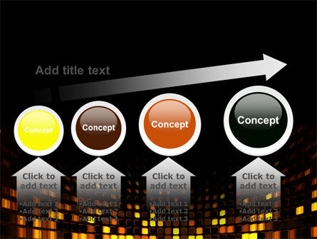 Mosaic Lights PowerPoint Template Slide 13