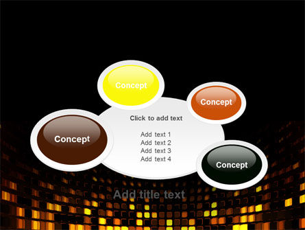 Mosaic Lights PowerPoint Template Slide 16