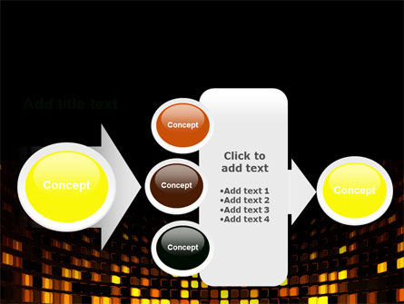 Mosaic Lights PowerPoint Template Slide 17