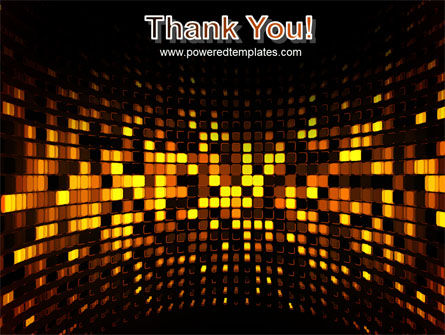 Mosaic Lights PowerPoint Template Slide 20