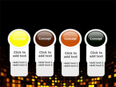 Mosaic Lights PowerPoint Template Slide 5