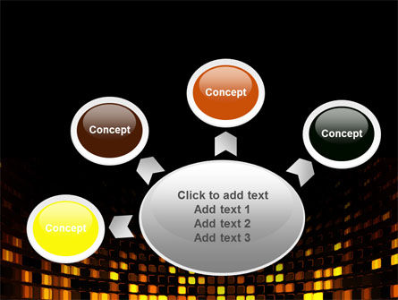 Mosaic Lights PowerPoint Template Slide 7