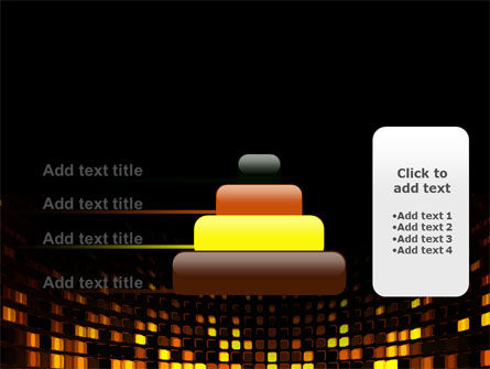 Mosaic Lights PowerPoint Template Slide 8