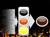 Mosaic Lights PowerPoint Template#11