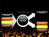 Mosaic Lights PowerPoint Template#14