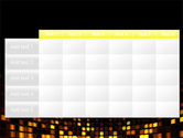 Mosaic Lights PowerPoint Template#15