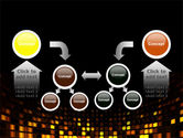 Mosaic Lights PowerPoint Template#19