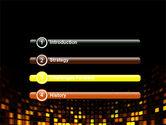 Mosaic Lights PowerPoint Template#3