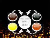 Mosaic Lights PowerPoint Template#6