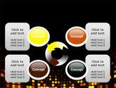 Mosaic Lights PowerPoint Template#9