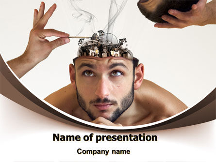 Mind Mending PowerPoint Template, 07004, Technology and Science — PoweredTemplate.com