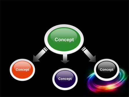 Rainbow Circle PowerPoint Template Slide 4