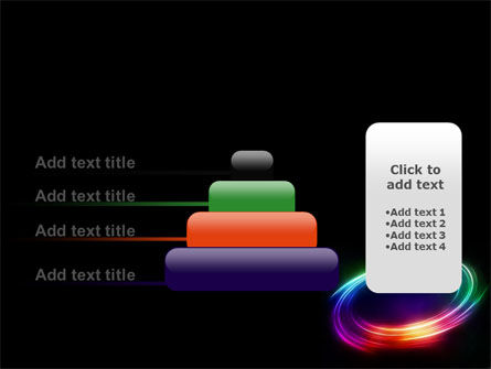 Rainbow Circle PowerPoint Template Slide 8