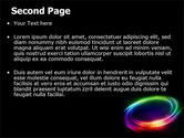 Rainbow Circle PowerPoint Template#2