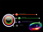 Rainbow Circle PowerPoint Template#3