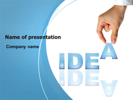 Creating an Idea PowerPoint Template