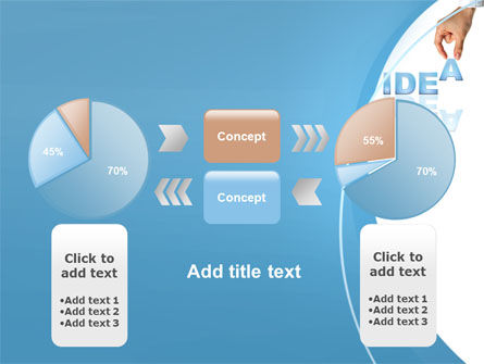 Creating an Idea PowerPoint Template Slide 11