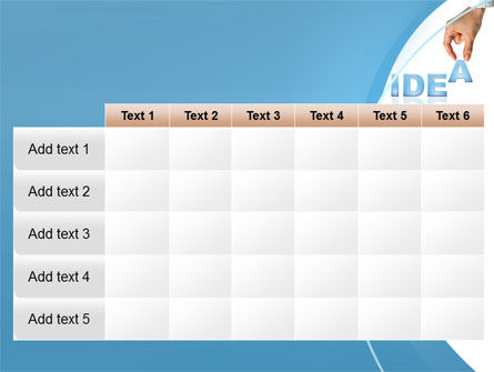 Creating an Idea PowerPoint Template Slide 15
