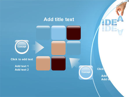 Creating an Idea PowerPoint Template Slide 16