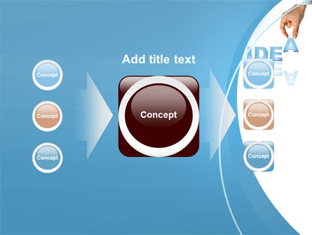 Creating an Idea PowerPoint Template Slide 17