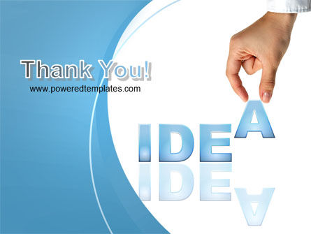 Creating an Idea PowerPoint Template Slide 20