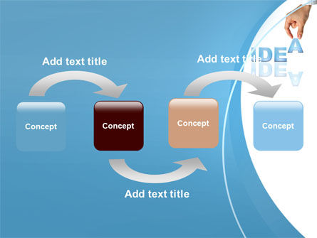 Creating an Idea PowerPoint Template Slide 4