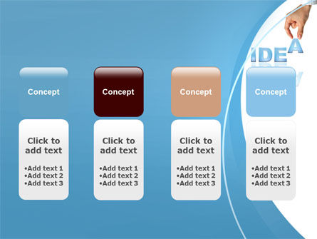 Creating an Idea PowerPoint Template Slide 5