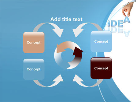 Creating an Idea PowerPoint Template Slide 6