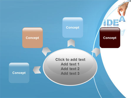 Creating an Idea PowerPoint Template Slide 7
