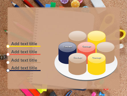 Office Stuff PowerPoint Template Slide 12