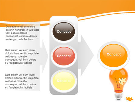 Idea Puzzle PowerPoint Template Slide 11