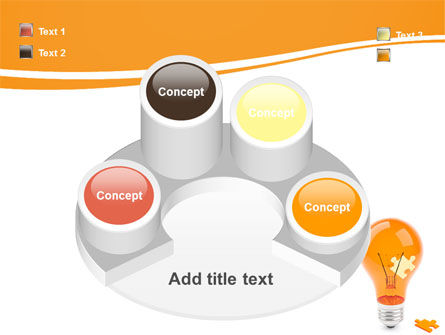 Idea Puzzle PowerPoint Template Slide 12