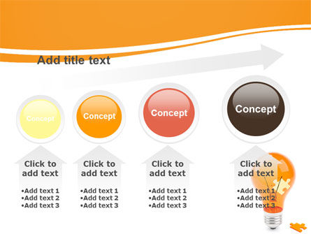 Idea Puzzle PowerPoint Template Slide 13