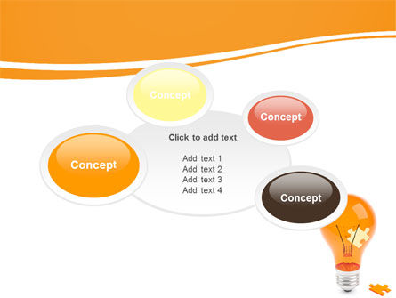 Idea Puzzle PowerPoint Template Slide 16