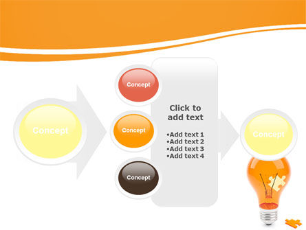 Idea Puzzle PowerPoint Template Slide 17