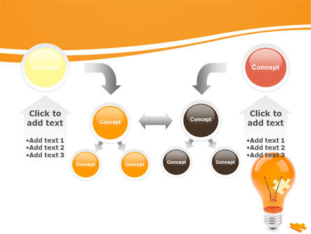 Idea Puzzle PowerPoint Template Slide 19