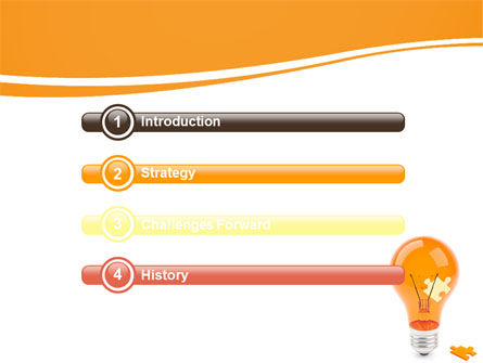 Idea Puzzle PowerPoint Template, Slide 3, 07011, Consulting — PoweredTemplate.com