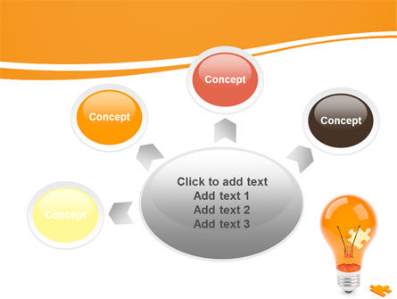 Idea Puzzle PowerPoint Template Slide 7