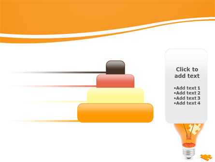 Idea Puzzle PowerPoint Template Slide 8