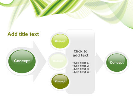 Green Leaf Abstract PowerPoint Template Slide 17