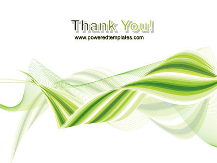 Green Leaf Abstract PowerPoint Template Slide 20