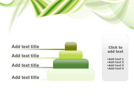 Green Leaf Abstract PowerPoint Template Slide 8