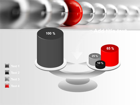 Red Ball PowerPoint Template Slide 10