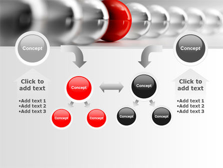 Red Ball PowerPoint Template Slide 19