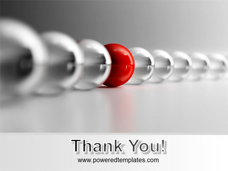 Red Ball PowerPoint Template Slide 20